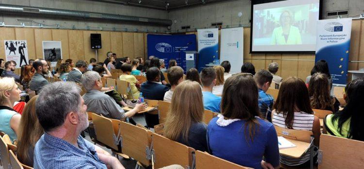 Box66 bei der Konferenz über Migration-und Flüchtlingspolitik in Warschau am 3.6.2016