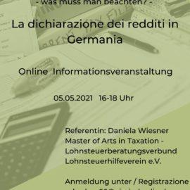 Steuererklärung- was muss man beachten?
